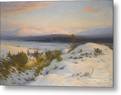 The Valley Of The Feugh Metal Print by Joseph Farquharson