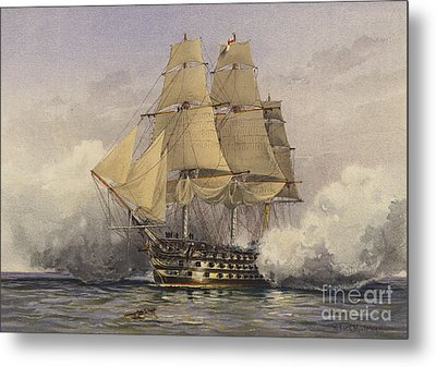 The Victory Metal Print by William Frederick Mitchell