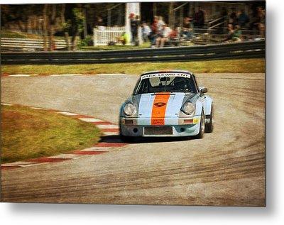 The Vintage Porsche Metal Print by John Adams