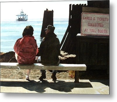 The Walk-ons Metal Print by Perry Woodfin