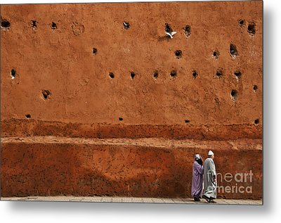 The Wall Metal Print by Marion Galt
