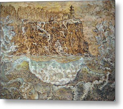 The Wave Metal Print by Doris Lindsey