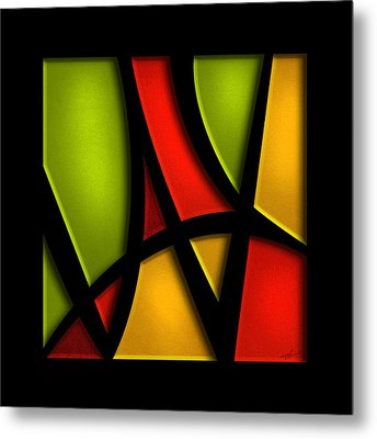 The Way - Abstract Metal Print by Shevon Johnson