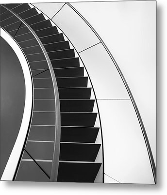 The Way Up And Down Metal Print by Gerard Jonkman