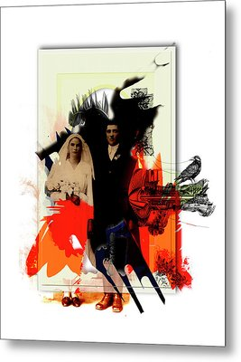 The Wedding Picture Metal Print by Aniko Hencz
