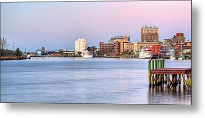 The Wilmington Skyline Metal Print by JC Findley
