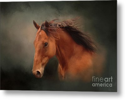 The Wind Of Heaven - Horse Art Metal Print by Michelle Wrighton