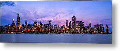 The Windy City Metal Print by Scott Norris