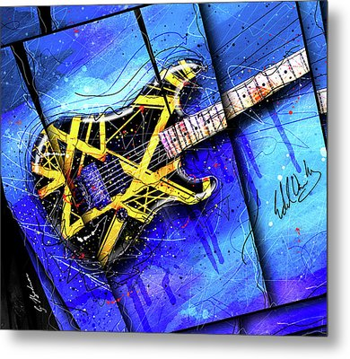 The Yellow Jacket_cropped Metal Print by Gary Bodnar