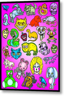 The Zoo Metal Print by Christopher Capozzi