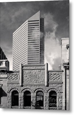 Then And Now Metal Print by Royce Howland