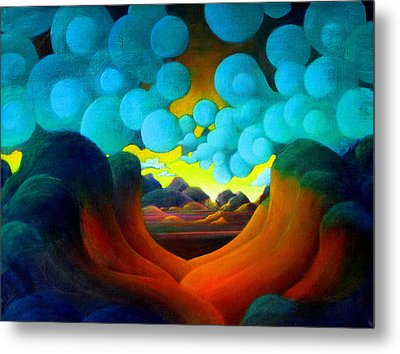 There Was Magic In The Air Metal Print by Richard Dennis