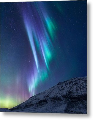 These Small Hours Metal Print by Tor-Ivar Naess