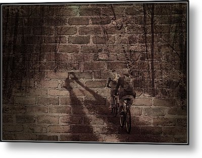 Hitting The Wall Metal Print by Jim Cook