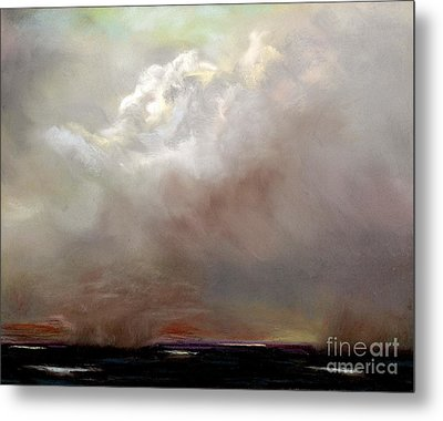 Things Are About To Change Metal Print by Frances Marino