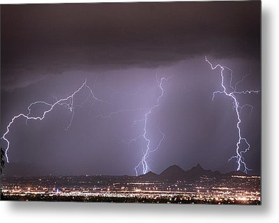 Things That Go Boom In The Night Metal Print by James BO Insogna