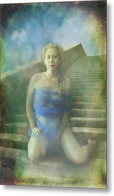 This Is My Heart Metal Print by Laurie Search