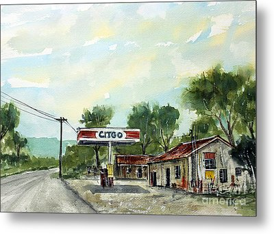 This Is Pott's Place Metal Print by Tim Ross