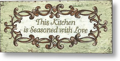 This Kitchen Metal Print by Debbie DeWitt