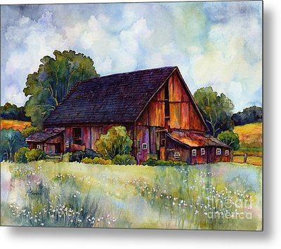 This Old Barn Metal Print by Hailey E Herrera