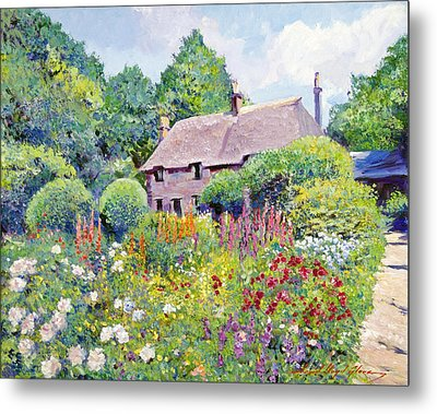 Thomas Hardy House Metal Print by David Lloyd Glover