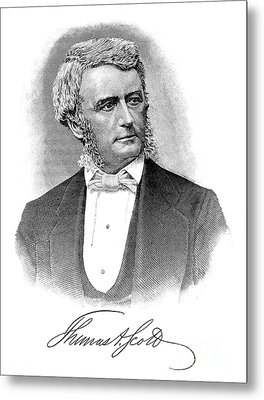 Thomas Scott (1823-1881) Metal Print by Granger