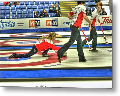 Three Times World Champions Metal Print by Lawrence Christopher