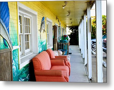 Thrift Store 1 Metal Print by Lanjee Chee