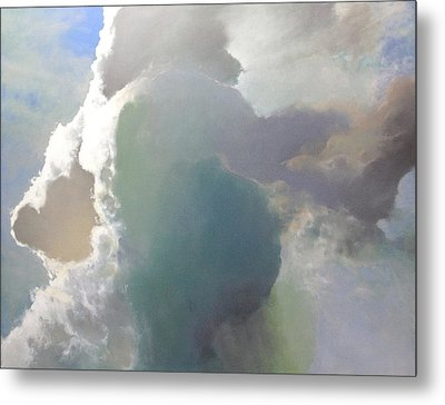 Thunderhead Metal Print by Cap Pannell