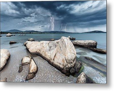 Thunderstorm  Metal Print by Evgeni Dinev
