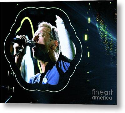 Chris Martin - A Head Full Of Dreams Tour 2016  Metal Print by Tanya Filichkin