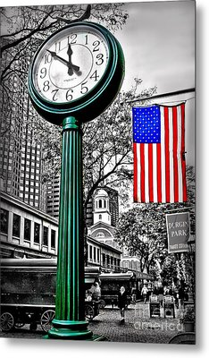 Time For Lunch Metal Print by DJ Florek
