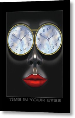 Time In Your Eyes Metal Print by Mike McGlothlen