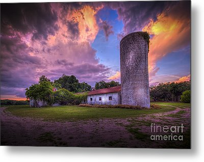 Time Tested Metal Print by Marvin Spates