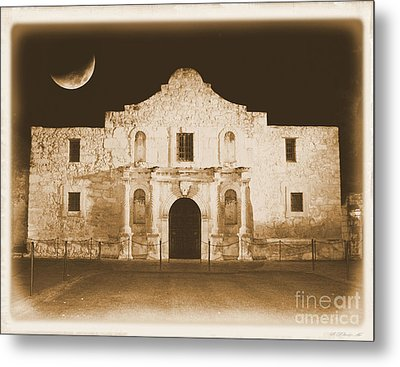 Timeless Alamo Metal Print by Carol Groenen