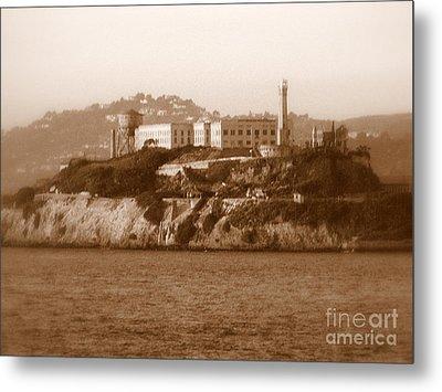Timeless Alcatraz Metal Print by Carol Groenen