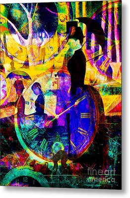 Timeless Art A Sunday On La Grande Jatte 20160229 Vertical Metal Print by Wingsdomain Art and Photography