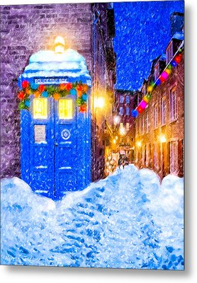 Timeless British Christmas Metal Print by Mark Tisdale