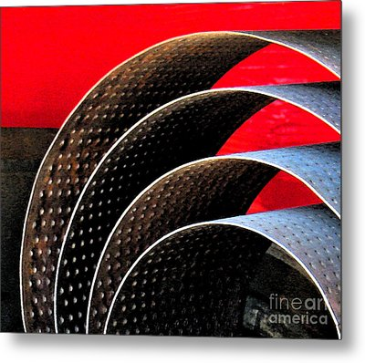Tin Abstract Metal Print by Gary Everson