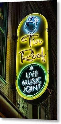 Tin Roof Metal Print by Stephen Stookey