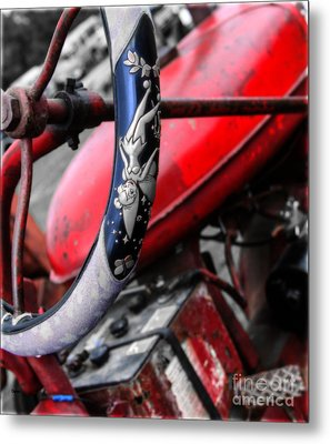 Tinker Bell's Tractor  Metal Print by Steven  Digman