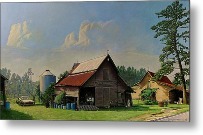 Tired And Retired Metal Print by Doug Strickland