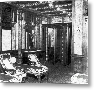 Titanic: Turkish Bath, 1912 Metal Print by Granger