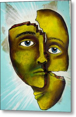 To Destroy The False Image Metal Print by Paulo Zerbato