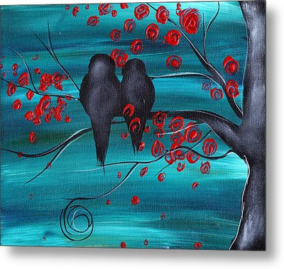 Together As One Metal Print by  Abril Andrade Griffith