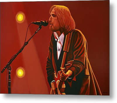 Tom Petty Metal Print by Paul Meijering