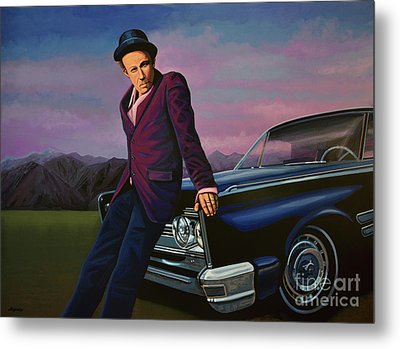 Tom Waits Metal Print by Paul Meijering