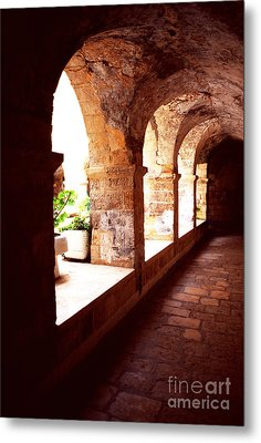 Tomb Of King David Metal Print by Thomas R Fletcher