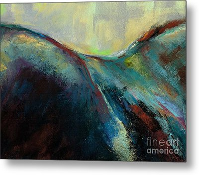Top Line Metal Print by Frances Marino
