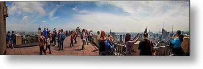 Top Of The Rock Experience Metal Print by Az Jackson